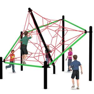 Lưới leo vận động thể chất
