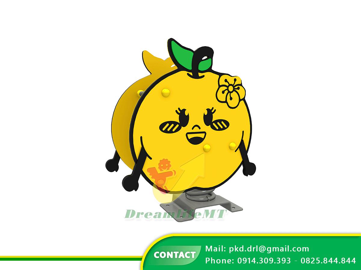 Thú nhún chủ đề trái cây